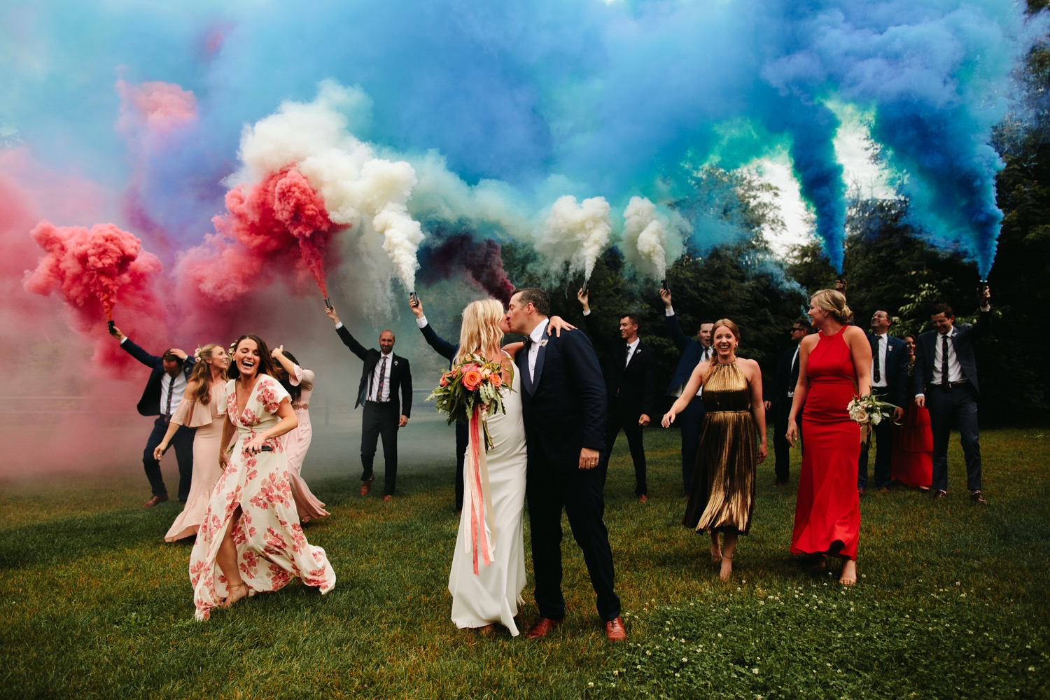Epic- vermont-fourth-of-july-wedding