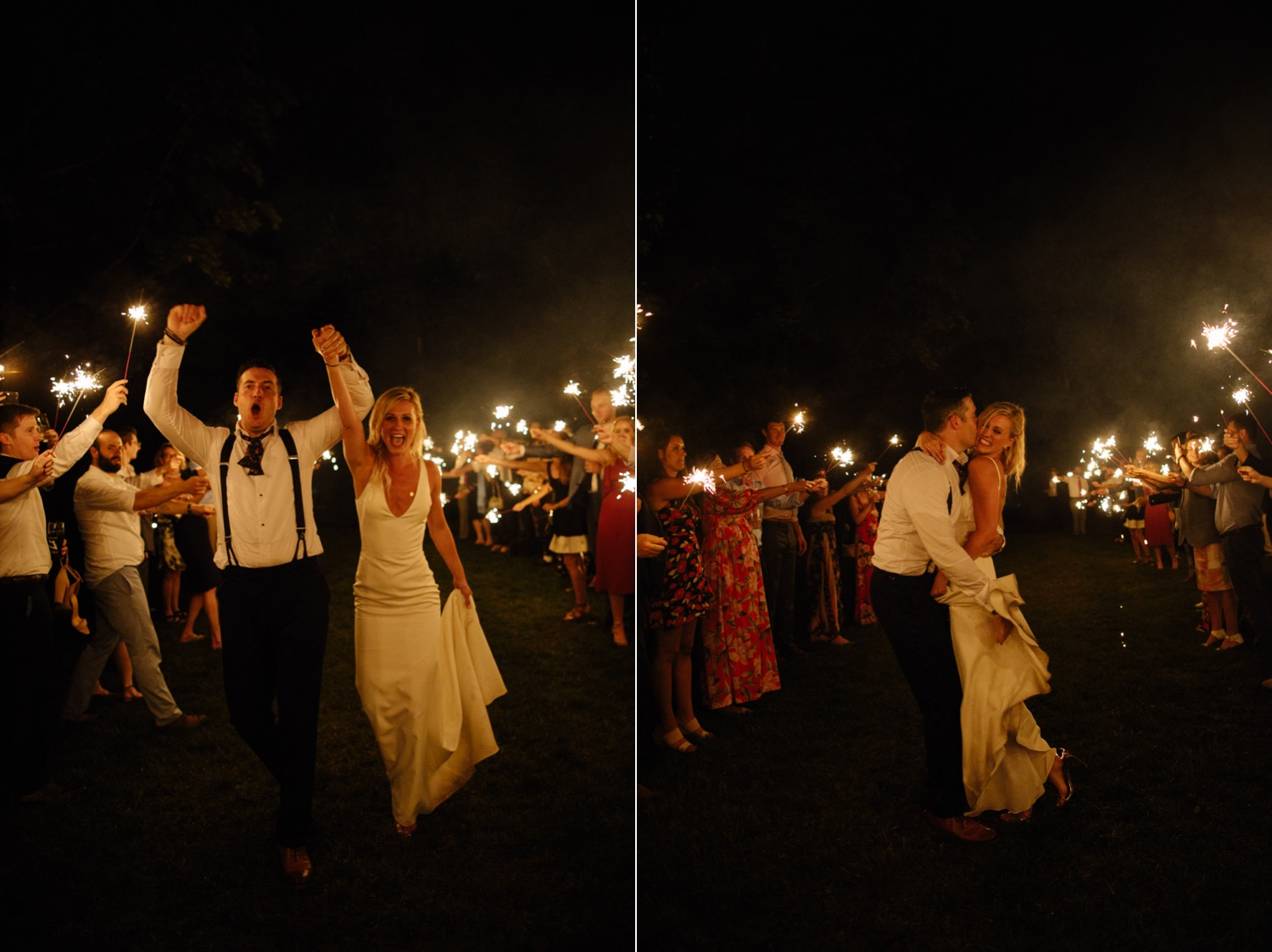 vermont-wedding-sparkler-send-off